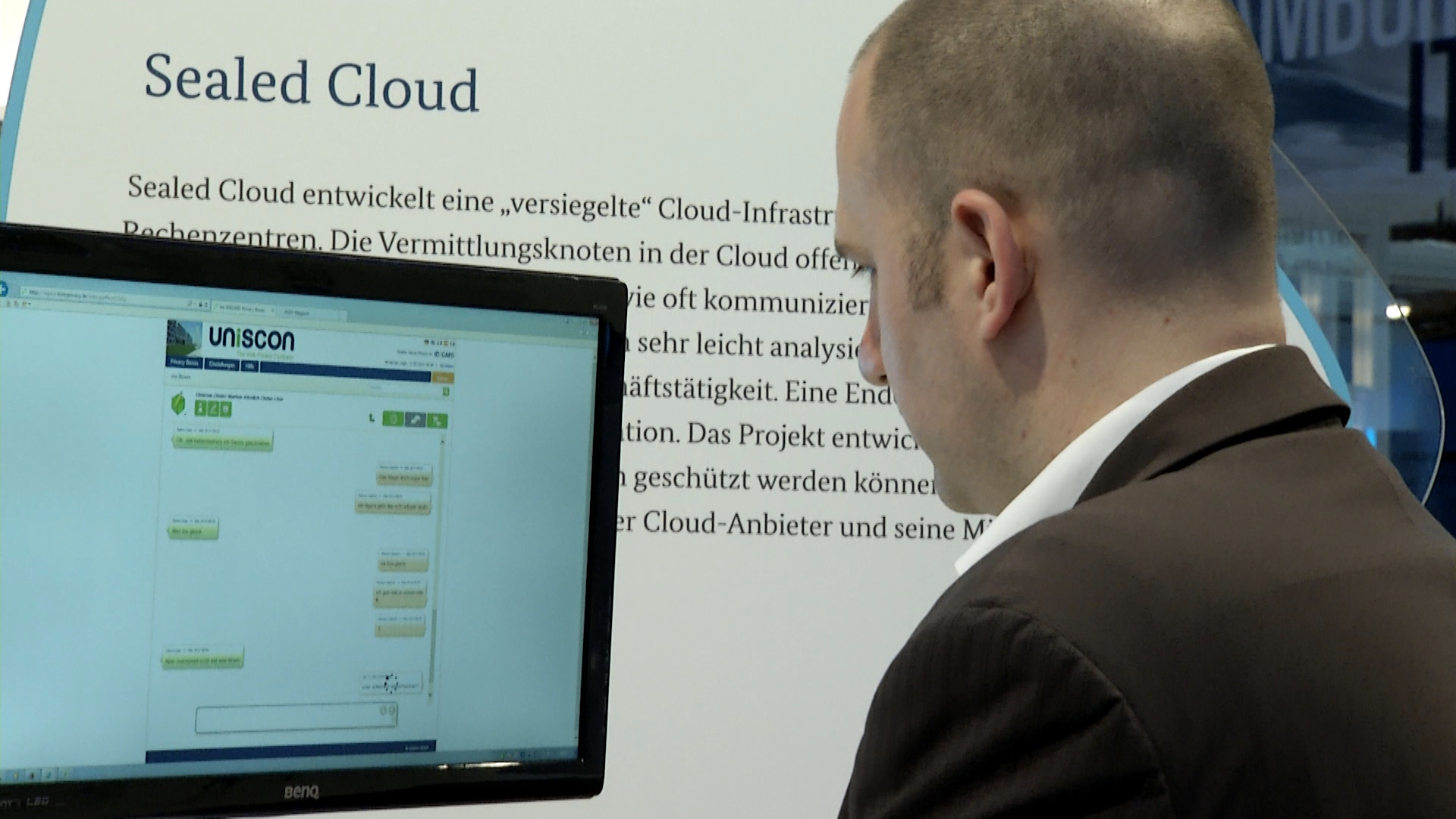 "Datensicherheit beim Cloud-Computing konsequent erweitert: ""Sealed Cloud"""