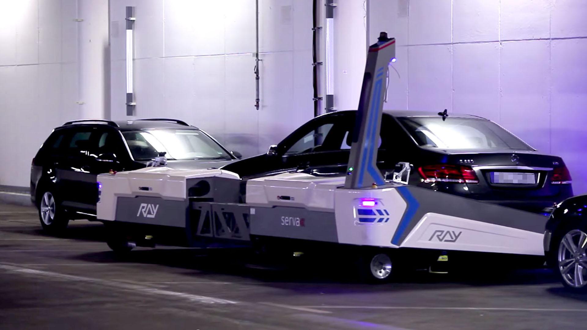 Roboter Ray: So parkt man heute