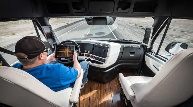 Daimler Inspiration Truck: Der erste autonome Truck fährt in Nevada