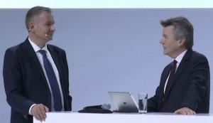 Hannes Rügheimer und Christian Spanik im Talk