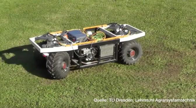 Elwobot: Mit Einzelradantrieb durch den Weinberg