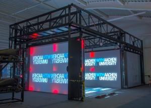 Die RWTH Aachen betreibt das größte VR-Labor der Welt. (C) RWTH Aachen / VR Group