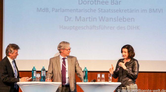 Digitale Zukunft Mittelstand Dorothee Bär Martin Wansleben Christian Spanik