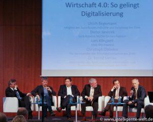 Digitale Zukunft Mittelstand Diskussionsrunde
