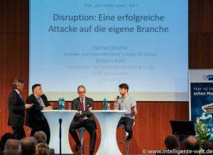Digitale Zukunft Mittelstand Diskussionsrunde Reichle Rühl Schumann