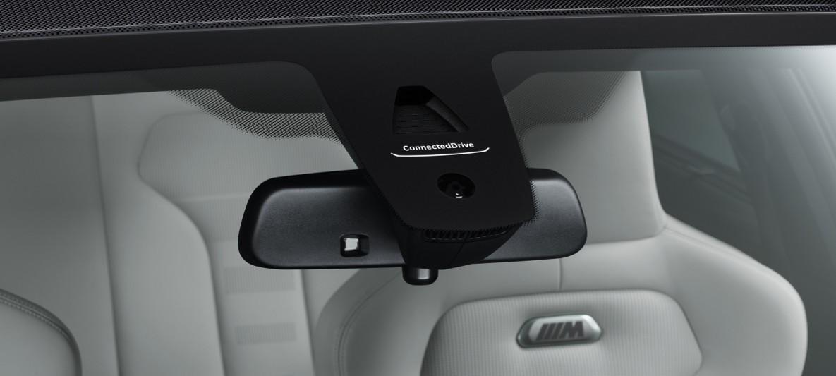 Frontkameras im Rückspiegelgehäuse finden sich heute schon in fast allen Fahrzeugklassen. (C) BMW