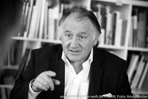 Prof. Dr. Peter Weibel © ZKM, Foto: Andy Ridder