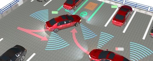 Die Forschungsschwerpunkte am Fraunhofer IPA betreffen heutige Fahrerassistenzsysteme bis hin zum autonomen Fahren morgen. (C) Fraunhofer IPA
