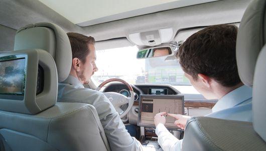 """Für die schnelle Umsetzung von Forschungsergebnissen kooperiert das """"Tech Center a-drive"""" mit der Daimler AG. (C) Universität Ulm"""
