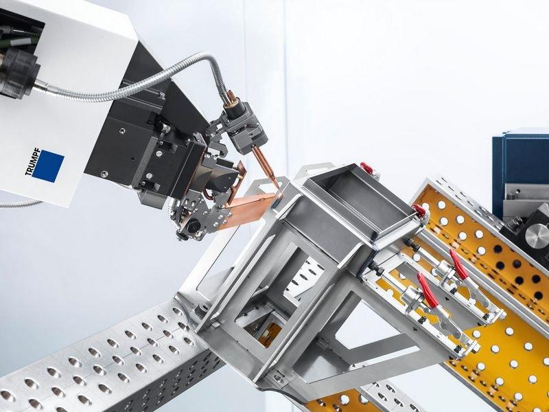 Preisgekrönt in diesem Jahr: der Werkzeugmaschinen-Hersteller Trumpf. (C) Trumpf