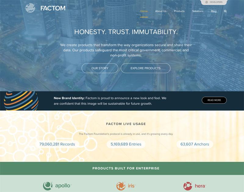 Factom konzentriert sich auf Sicherheit und Echtheit von Unternehmens- und Privatkunden-Daten.
