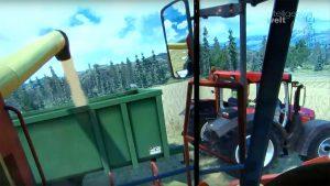 Ob Bau-, Transport- oder Landwirtschafts-Maschinen – die Firma TENSTAR bietet simulationsbasierte Schulungs-Tools für große Spezial-Fahrzeuge an.