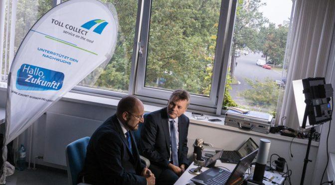 Livesendung bei Intelligente Welt: Digitale Zukunft? Ausbildung in Transport und Logistik