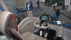 Cockpit Iveco Z Truck - Digitalisierung Logistik