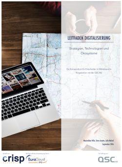 Die Studie zur Digitalisierungsstrategie ist kostenlos abrufbar. (C) Crisp Research AG