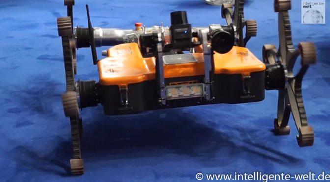 """Marsroboter in der Wüste – die """"extraterrestrische"""" Mission des DFKI"""