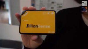 Das kleine Gerät von ZillionSource überträgt nicht nur seine Position, sondern auch viele weitere Parameter zur Überprüfung empfindlichen Frachtguts.