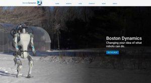Die Firma Boston Dynamics, die mittlerweile Softbank gehört, beschäftigt sich mit der Entwicklung spezialisierter Laufroboter.