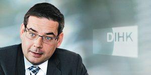 Dirk Binding, Bereichsleiter Dienstleistungen, Infrastruktur und Regionalpolitik beim DIHK.