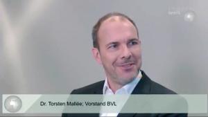 Dr. Torsten Mallée, Mitglied des Vorstands der BVL und Director International Business Development bei der AEB GmbH