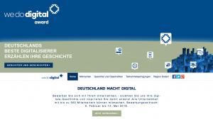 Infos zur Aktion und die Möglichkeit zur Teilnahme gibt es unter www.wedodigital.de.