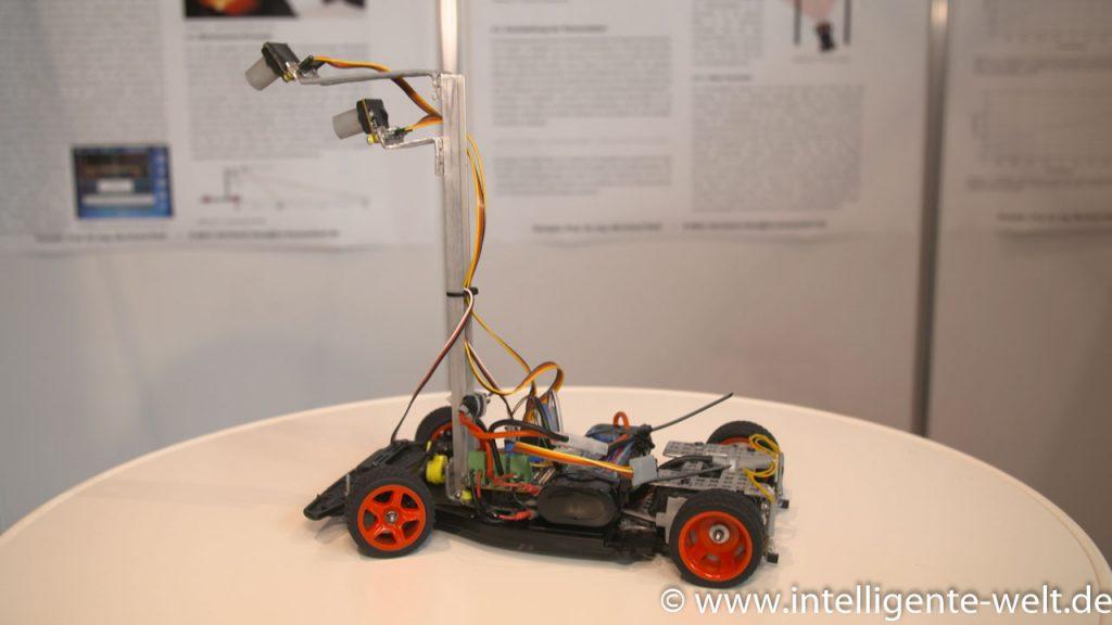 Das Fahrzeug der HSD - Autonomes Fahren - Intelligente Fahrzeuge
