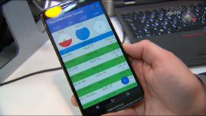 Die zu OpenIntellicare zugehörige App überprüft die Gesundheitswerte und erinnert die Patienten daran, sie zu ermitteln.