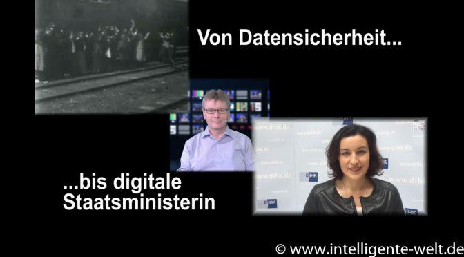 09:59 – das Digitalmagazin: Von Datensicherheit bis digitale Staatsministerin