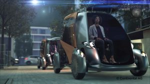 Conti BEE - autonomes Fahrzeug