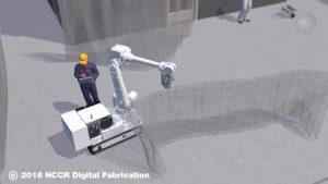 """Der """"In-Situ-Fabricator"""" ist ein speziell für den Baueinsatz konzipierter Roboter."""