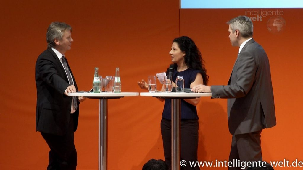 Florence Delalande und Rainer Liebhart im Talk mit Christian Spanik: Transparenz in der Supply Chain