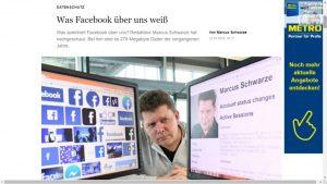 Marcus Schwarze - Was Facebook über ihn weiß