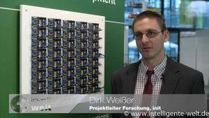 Dirk Weißer, init, vor Versuchsaufbau Bluetooth-Beacons zur Fahrgastinformation