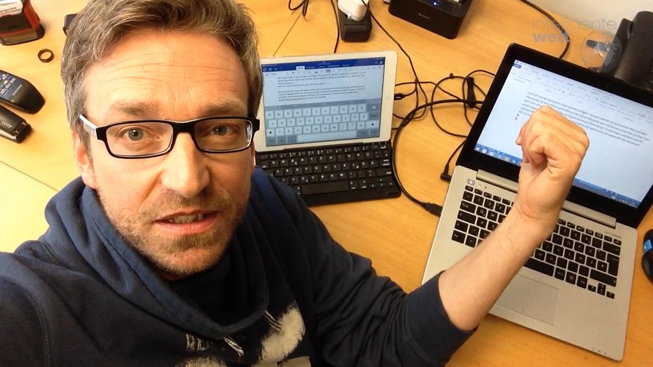 Office 365, iPad und der schlimme Finger…