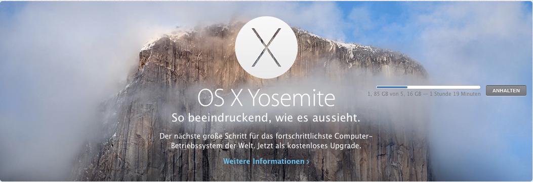 OS X Yosemite: Gratis-Update mit teuren Folgen