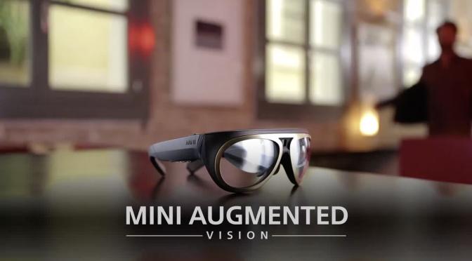 Automarke MINI präsentiert Datenbrille