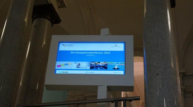Live aus Stuttgart: die Navigationskonferenz 2015