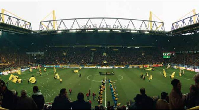 Die Omnicam von Fraunhofer überträgt zum Beispiel Panorama-Bilder aus Stadien.