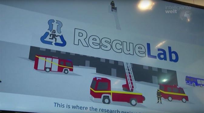Rescue Lab – ein Forschungsprojekt unterstützt Rettungskräfte beim Üben