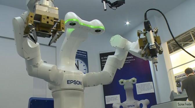 Doppel-Arm-Roboter von Epson