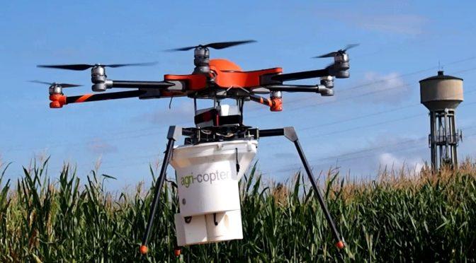 Unbemannte Luftfahrzeuge: Drohnen als Helfer in der Landwirtschaft