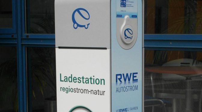 RWE erprobt Blockchain für Ladestationen