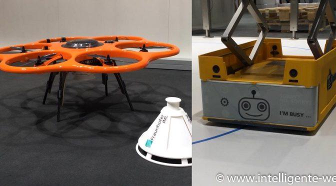 Roboter und Drohnen