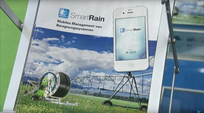 """Mit der App """"Smart Rain"""" bietet die Bauer-Group eine Lösung für Precision Irrigation an – also smartes Bewässerungsmanagement."""