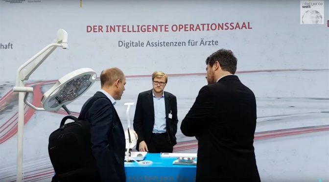 Der vom ICCAS (Uni Leipzig) entwickelte intelligente Operationssaal unterstützt Mediziner, indem er die Technik automatisch nach ihrem Bedarf einstellt.