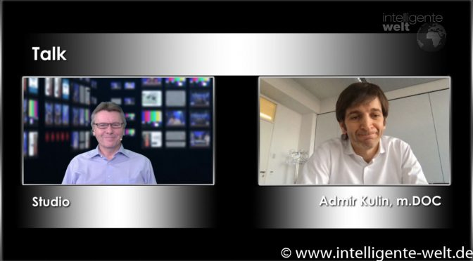 Christian Spanik im Talk mit m.Doc CEO Admir Kulin