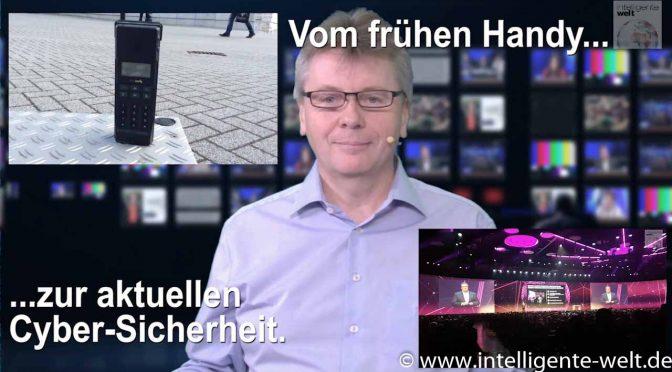 Digitalmagazin: Handy 1990, Cyber-Security 2018