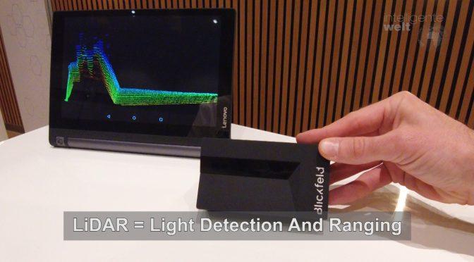 """Blickfeld Sensor – damit autonom fahrende Autos ihre Umgebung """"sehen"""" und """"verstehen"""""""