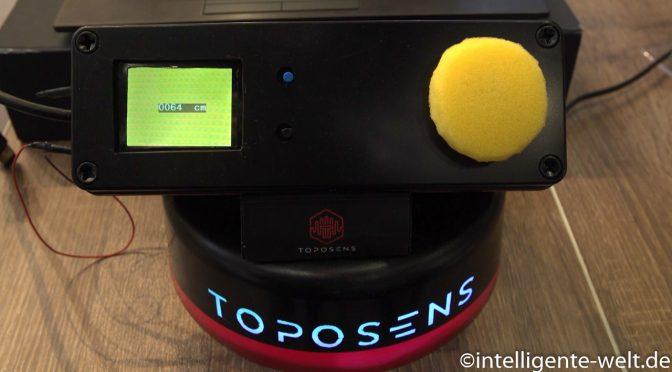 Toposens – Sehen, ohne etwas zu sehen