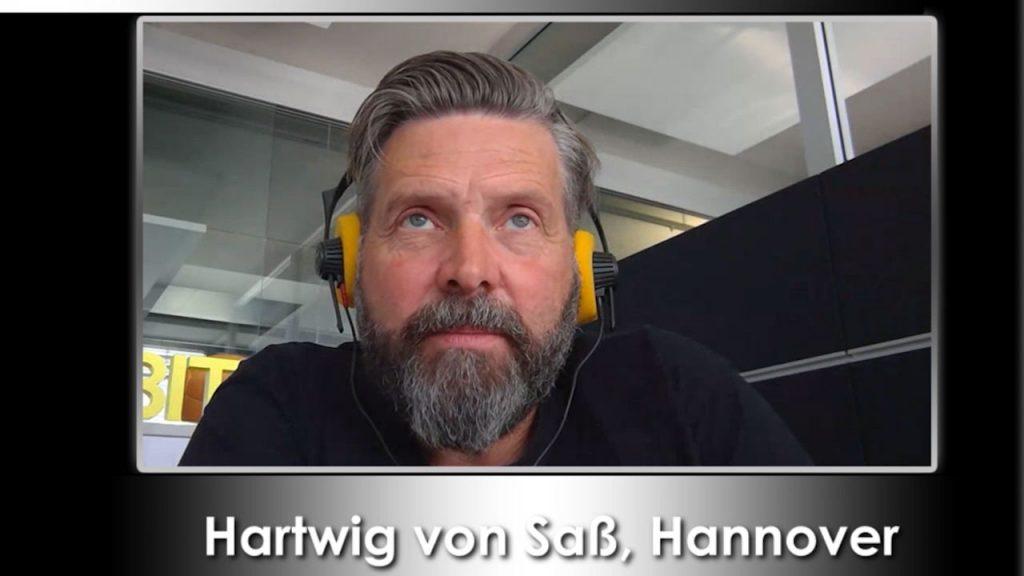 Hartwig von Saß zur CEBIT 2018